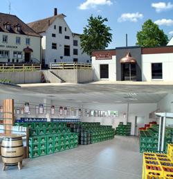 Fertigstellung und Neueröffnung des Getränkemarktes in der Steigerwaldstraße 28 in Münchsteinach