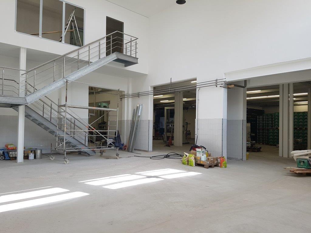 Die Füllerei 1 wird erneuert und eine zusätzliche Besuchertribüne integriert
