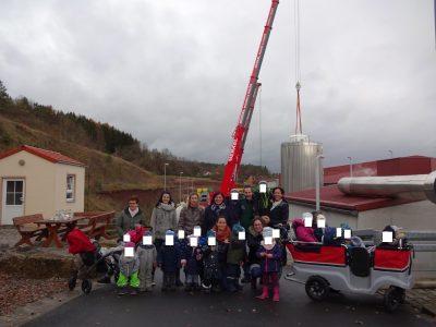 """November 2019 – Besuch Kinderkrippe """"Steinachgrund"""" Münchsteinach"""